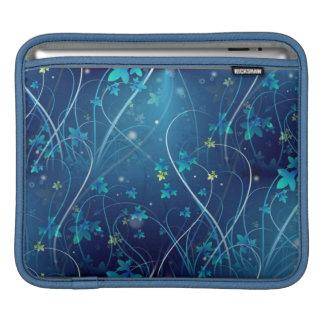 blue floral ipad sleeve