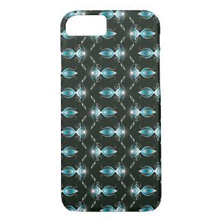 Blue floral Pattern Case