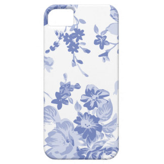 Blue Floral Pattern Phone Case