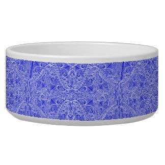 Blue Floral twists