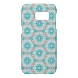 Blue flower android phone case