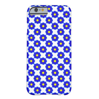 blue flower barely there iPhone 6 case