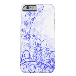 Blue Flower Case Barely There iPhone 6 Case