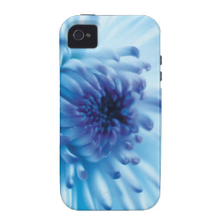 Blue Flower Vibe iPhone 4 Cases
