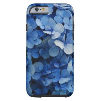 Blue Flower Case Tough iPhone 6 Case