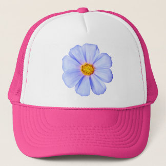 Blue Flower - Customized Cosmos Daisies Template Trucker Hat