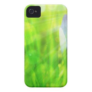 blue flower design Case-Mate iPhone 4 case