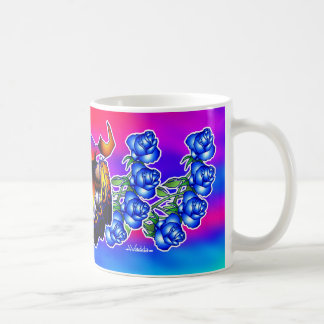 Blue Flower Dreams Coffee Mug