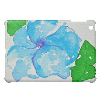 Blue Flower Case For The iPad Mini