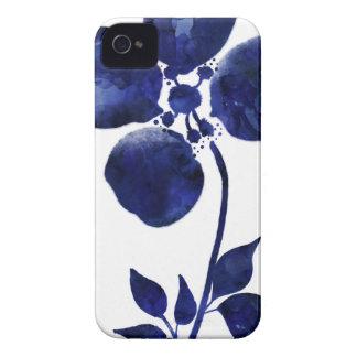 Blue Flower iPhone 4 Case
