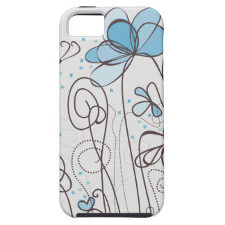 Blue flower iPhone 5 covers