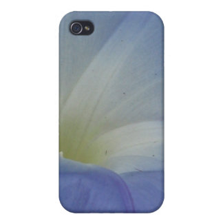 blue flower iPhone 4/4S cover