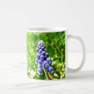 Blue Flower Mug - Grape Hyacinth