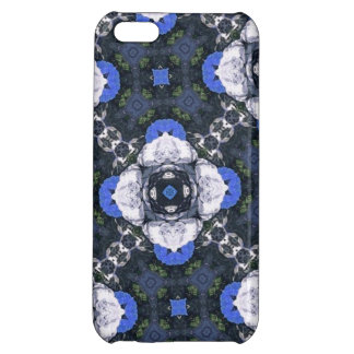 Blue Flower Pattern iPhone 5C Case