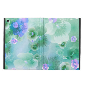 Blue Flower Spring Cover For iPad Air