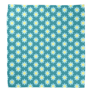 Blue Flower TP Bandanna