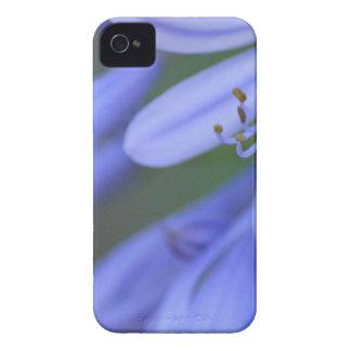 Blue Flowers 4 mf iPhone 4 Case-Mate Case