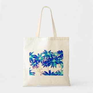 Blue flowers Budget Tote Budget Tote Bag