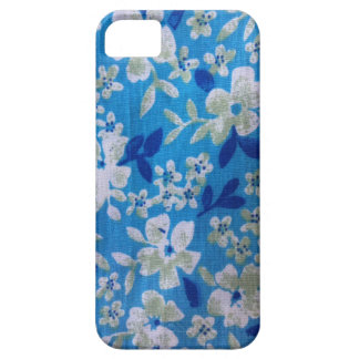 Blue flowers iPhone 5/5S cover