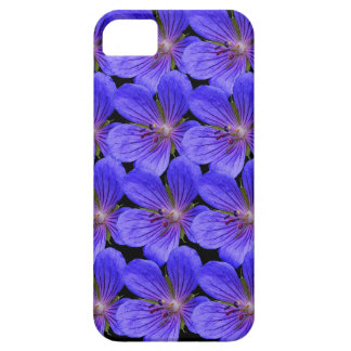 Blue flowers cover for iPhone 5/5S