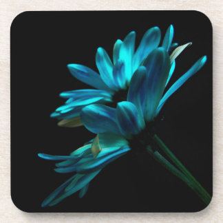 Blue Flowers Drink Coaster