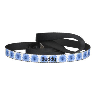 blue flowers for pet leashes
