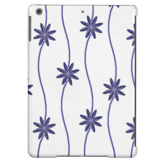 Blue Flowers iPad / Cell Phone Case iPad Air Covers