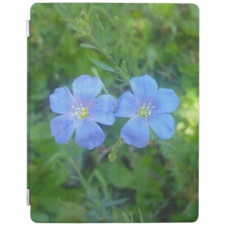Blue Flowers iPad Cover