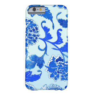"""Blue flowers"" iPhone 6/6s, Barely There Barely There iPhone 6 Case"