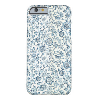 Blue Flowers iPhone 6/6S Barely There Case