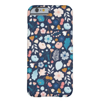 Blue Flowers of Flowers Phone Case