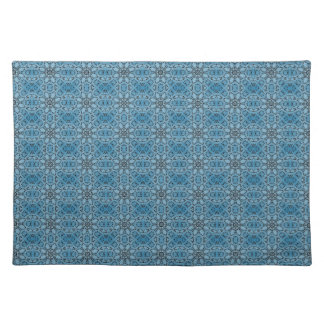 Blue Flowers Placemat