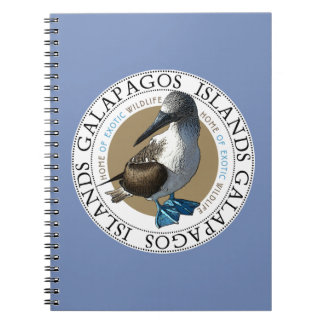 Blue Footed Booby Bird Notebook