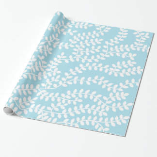 Blue Forest Wrapping Paper