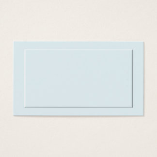 Blue Formal Place Cards