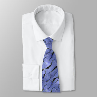 Blue Fossil Tie