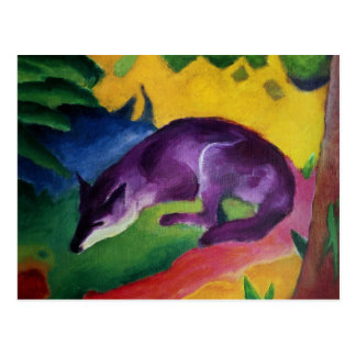 Blue Fox, 1911 Postcard