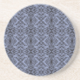 Blue Foxtail Repeat Coaster