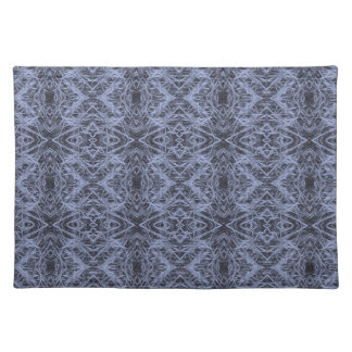 Blue Foxtail Repeat Place Mats