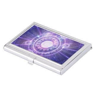 Blue Fractal Alchemy HUD for Bending Hyperspace Business Card Holder