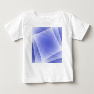 Blue Fractal Blank Background Baby T-Shirt