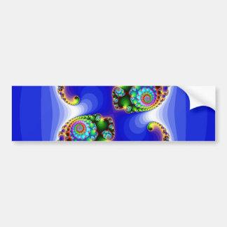 blue fractal image