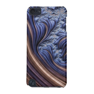 Blue fractal image iPod touch 5G covers