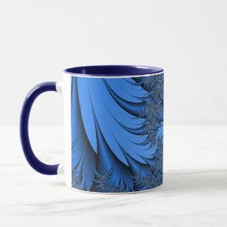 Blue Fractal Mug