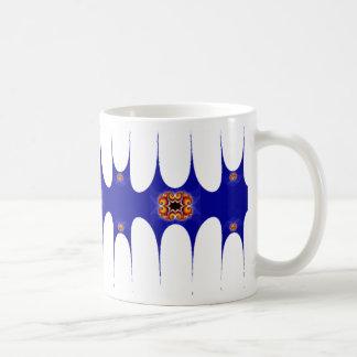 Blue Fractal Coffee Mugs
