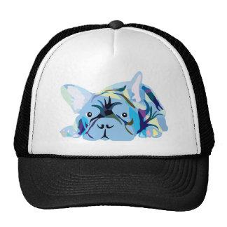 Blue French Bulldog Cap