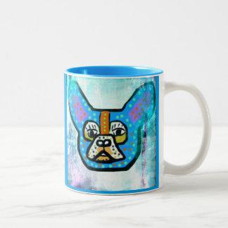 Blue Frenchie Coffee Mug