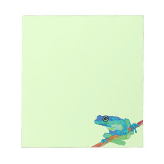 Blue Frog Notepad
