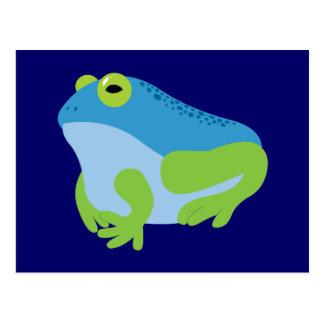 Blue Frog Postcard