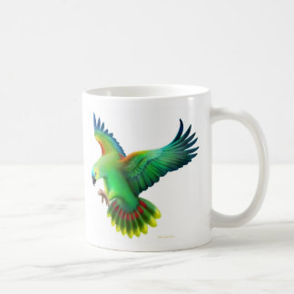 Blue Fronted Amazon Parrot Mug